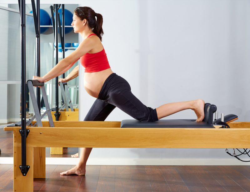 Pilates scooter pregnant